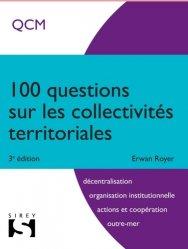 Dernières parutions dans 100, 100 questions sur les collectivités territoriales. 3e édition
