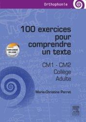 Souvent acheté avec Rééduquer la mémoire de travail, le 100 exercices pour comprendre un texte