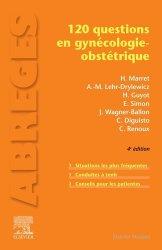 Dernières parutions sur Spécialités médicales, 120 questions en gynécologie-obstétrique