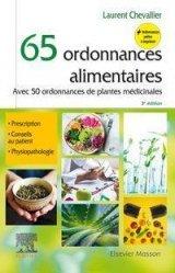 Dernières parutions sur Diététique - Nutrition, 65 ordonnances alimentaires