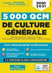 Dernières parutions sur Culture générale, 5000 QCM de culture générale. Edition 2020-2021