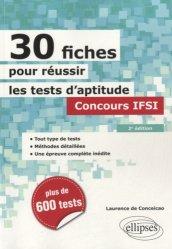 Nouvelle édition 30 fiches pour réussir les tests d'aptitude