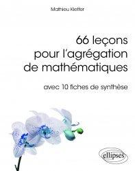 Souvent acheté avec Intégration, espaces de Hilbert et analyse de Fourier, le 66 leçons pour l'agrégation de mathématiques - avec 10 fiches de synthèse