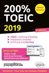 Nouvelle édition 200% toeic listening et reading 2019