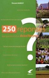 Souvent acheté avec Cabanons à vivre rêveries, écologie et conseils, le 250 Réponses aux questions d'un écocitoyen