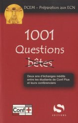 Souvent acheté avec Médicaments pour les ECN, le 1001 Questions bêtes