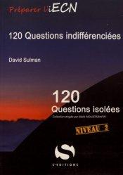 Dernières parutions dans 120 questions isolées, 120 questions indifférenciées