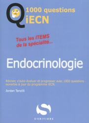 Dernières parutions sur ECN iECN DFASM DCEM, 1000 questions ECN Endocrinologie
