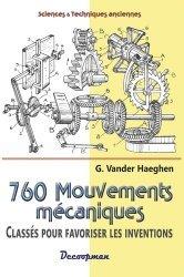 Souvent acheté avec Les moteurs à vent, le 760 mouvements mécaniques