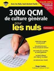 Dernières parutions sur Culture générale, 3 000 QCM de culture générale pour les nuls