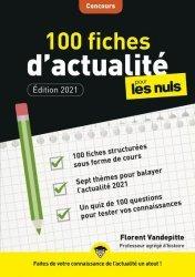 Dernières parutions sur Culture générale, 100 fiches d'actualité pour les Nuls Concours