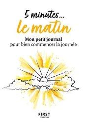 Dernières parutions dans Le petit livre, 5 minutes# le matin