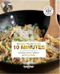 Nouvelle édition 200 recettes prêtes en 10 minutes