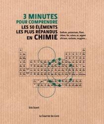 Souvent acheté avec 3 minutes pour comprendre les 50 notions élémentaires de la chimie, le 3 minutes pour comprendre les 50 éléments les plus répendus en chimie