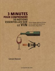 Dernières parutions dans 3 minutes pour comprendre, 3 minutes pour comprendre les 50 plus grandes caractéristiques et spécificités du vin - Terroir, cépages régionaux & styles de vins, origine des appellations, fermentation, dégustation