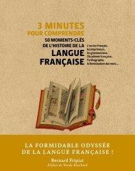 Dernières parutions dans 3 minutes pour comprendre, 3 minutes pour comprendre 50 moments-cles de l'histoire de la langue francaise
