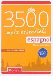 Dernières parutions sur Vocabulaire, Les 3500 mots essentiels espagnol