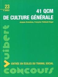 Nouvelle édition 41 QCM de culture générale