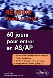 Dernières parutions dans Réussir Santé - Social, 60 jours pour entrer en AS/AP