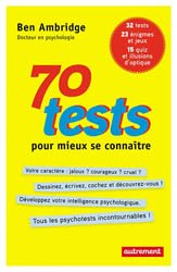 Dernières parutions sur Tests QI, 70 tests pour mieux se connaître