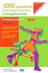 Souvent acheté avec Concours Orthophoniste, le 1000 questions pour réussir le concours orthophoniste