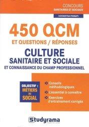 Dernières parutions dans Concours sanitaires et sociaux, 450 QCM et questions/réponses