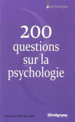 Dernières parutions sur Psychologie pour les étudiants, 200 questions sur la psychologie