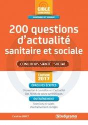 Souvent acheté avec Concours sociaux 2017-2018, le 200 questions d'actualité sanitaire et sociale 2017