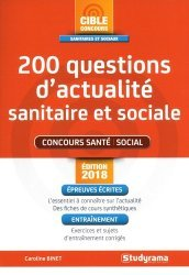 Nouvelle édition 200 questions d'actualité sanitaire et sociale
