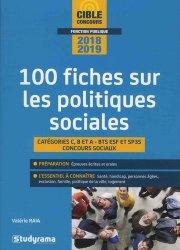 Souvent acheté avec Le QCM, le 100 fiches sur les politiques sociales