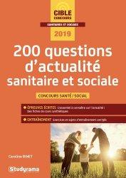 Dernières parutions sur Entrée en école de travail social, 200 questions d'actualité sanitaire et sociale