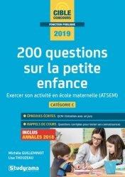 Dernières parutions sur CAP- BEP Petite enfance, 200 questions sur la petite enfance