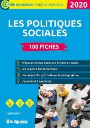 Dernières parutions dans Concours fonction publique, 100 fiches les politiques sociales. Edition 2020