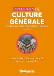 Dernières parutions sur Culture générale, 250 fiches de culture générale
