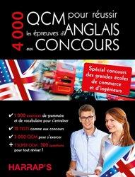 Dernières parutions dans Harrap's biling. anglais, 4000 QCM pour réussir l'anglais aux concours