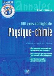 Souvent acheté avec Physique au concours d'entrée Masseur-kinésithérapie, le 100 exos corrigés de physique-chimie