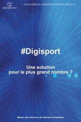 Dernières parutions sur Enseignement du sport, #Digisport. Une solution pour le plus grand nombre ?