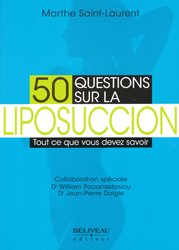 Dernières parutions sur Chirurgie esthétique, 50 questions sur la liposuccion