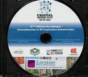 Dernières parutions dans Récents progrès en génie des procédés, 8eme édition du colloque Cristallisation et Précipitation Industrielles (Cristal, Rouen 2016 26-27 mai)