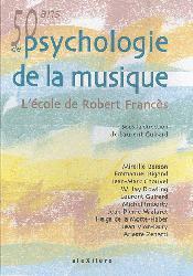 Nouvelle édition 50 ans de Psychologie de la musique