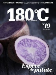 Dernières parutions sur Techniques culinaires, 180°C N° 19, hiver 2020 : Espèce de patate