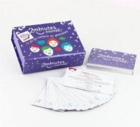 Dernières parutions sur Grands-parents, 2 minutes ensemble ! Le jeu qui connecte les générations. 52 cartes pour connecter ensemble les générations