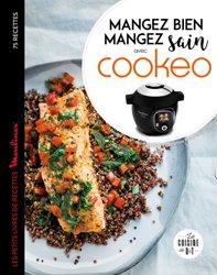 Dernières parutions dans Les petits Moulinex/Seb, Mangez sain mangez bien avec Cookeo