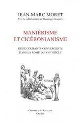 Dernières parutions sur Histoire de l'art, Maniérisme et Cicéronianisme