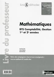 Dernières parutions sur BTS - DUT - IUT, Mathématiques BTS Comptabilité Gestion 1re et 2e années