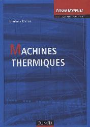 Dernières parutions sur Chaleur, Machines thermiques