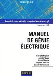 Souvent acheté avec Précis de matières plastiques, le Manuel de génie électrique