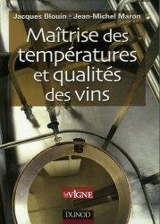 Souvent acheté avec La fermentation malolactique dans les vins, le Maîtrise des températures et qualités des vins