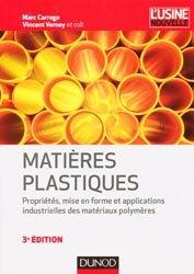 Souvent acheté avec Transformation des matières plastiques, le Matières plastiques