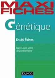 Souvent acheté avec Biologie cellulaire - UE2, le Maxi fiches de génétique